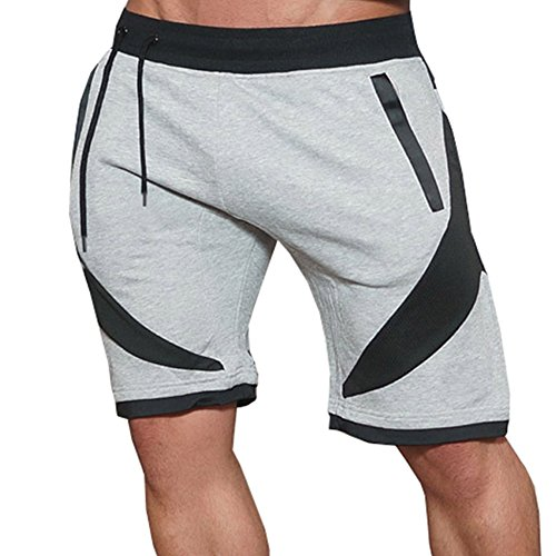 Ouber-Mens-Fitted-Sweat-Shorts-Running-Workout-Gym-Shorts