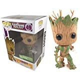 Amazon Com Funko Pop Extra Mossy Groot Guardians Of