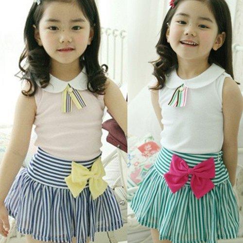 LW Royal School Tshirt Skirt Set