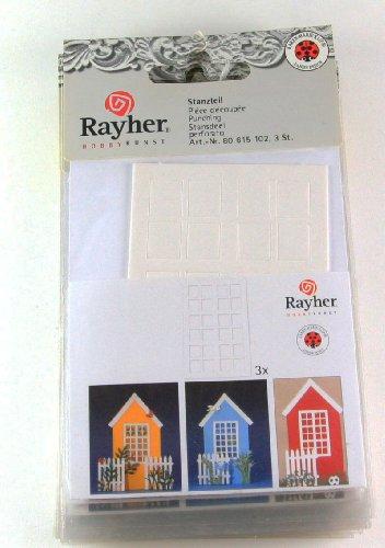 Filigrana laser 'finestre per casette' per decorazione