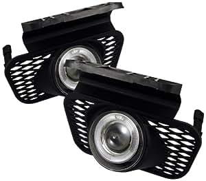 Spyder Auto FL-P-CSIL03-HL Chevy Silverado/Avalanche Clear Halogen Projector Fog Light