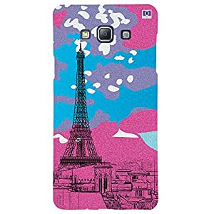 Paris 2 - Mobile Back Case Cover For Samsung Galaxy A7 (2015)