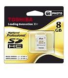東芝 SDHC カード 8GB クラス10 MADE IN JAPAN Toshiba 海外向けパッケージ品 並行輸入品