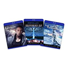 Blu-ray Sci-Fi Bundle (I Robot / Independence Day / Day After Tomorrow) - (Amazon.com Exclusive) [Blu-ray]