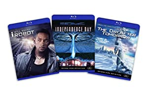 Blu-ray Sci-Fi Bundle (I Robot / Independence Day / Day After Tomorrow) - (Amazon.com Exclusive)