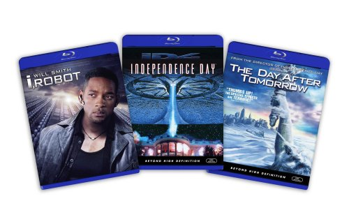 Blu-ray Sci-Fi Bundle (I Robot / Independence Day / Day After Tomorrow) - (Amazon.com Exclusive) (I Robot Independence Day compare prices)