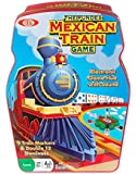 Ideal Mexican Train Game with Double 12 Color Dot Dominoes Set and Electronic Sound Effect Game Hub in a Tin Storage Container - POOF-Slinky 0X5454