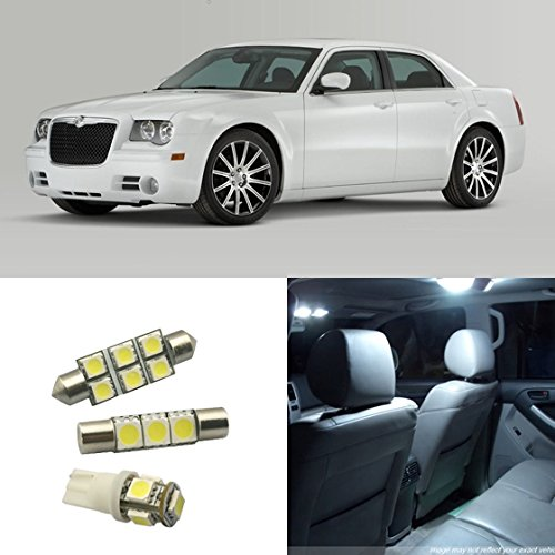 Partsam 2005 2012 chrysler 300 300c white led package 7 - Chrysler 300 interior accessories ...