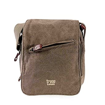 Troop 0239 Small Unisex Travel Handbag Across Body Bag (Brown)