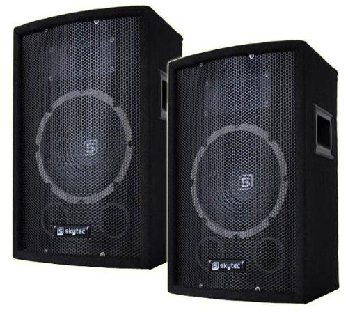 lautsprechers boxen test paar skytec dj party lautsprecher sl8 f r disco und partyraum. Black Bedroom Furniture Sets. Home Design Ideas