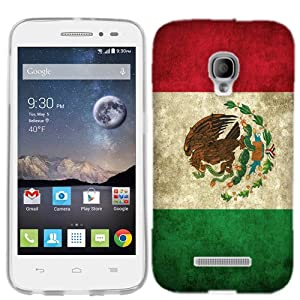 Amazon.com: for Alcatel One Touch Pop Astro Mexico Flag Phone Cover