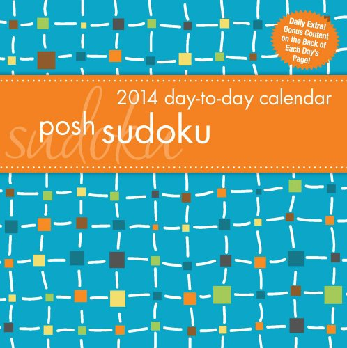 Posh: Sudoku 2014 Day-to-Day Calendar