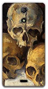 The Racoon Lean Skulls - Cezanne hard plastic printed back case / cover for Sony Xperia ZR