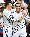 LIMITED EDITION GARETH BALE RONALDO REAL MADRID SIGNED PHOTO + CERT FOOTBALL PRINTED AUTOGRAPH SIGNATURE SIGNED SIGNIERT AUTOGRAM