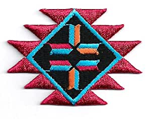 Southwestern southwest design embroidered for Southwest arts and crafts