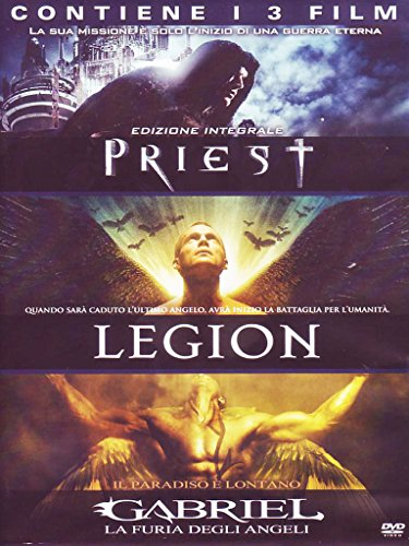Priest + Legion + Gabriel - La furia degli angeli [3 DVDs] [IT Import]