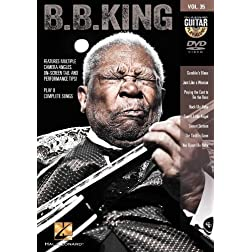 B.B. King - Guitar Play-Along DVD Volume 35
