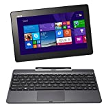 ASUS Transformer Book T100TA-C1-GR(S) 10.1″ Detachable 2-in-1 Touchscreen Laptop, 64GB (Grey)
