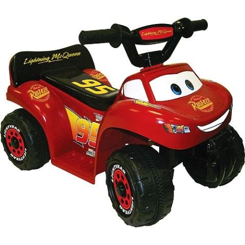 disney cars mini quad ride on lightning mcqueen toys