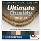 Ultimate Grade (1465 gr/m2) Fawn Beige Car Mats with Beige Edge for BMW Z4 (2003 - 2009) - In a choice of 8 colours