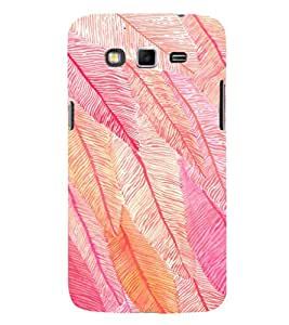 EPICCASE Feather Mobile Back Case Cover For Samsung Galaxy Grand 2 (Designer Case)