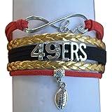 San Francisco 49ers Bracelet - 49ers Jewelry & Perfect Football Fan Gift