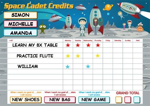 space-cadet-credits-reward-star-chart-massive-61cm-x-40cm-for-upto-3-children