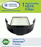 Hoover Windtunnel T-Series HEPA Rewind Upright Vacuum Cartridge Filter; Replaces Hoover Part # 303172001, 303172002; Designed & Engineered by Crucial Vacuum
