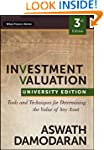 Investment Valuation: Tools and Techn...