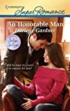 An Honorable Man (Harlequin Super Romance)