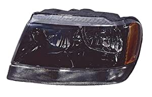 Jeep Grand cherokee (Laredo) Replacement Headlight Assembly - 1-Pair