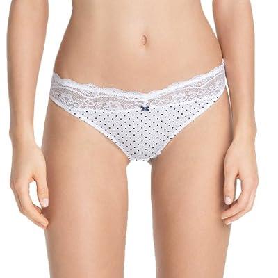 ESPRIT Bodywear Damen String X0455/RAMONA, gepunktet by ESPRIT Bodywear