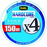 デュエル(DUEL) ライン HARDCORE X4 150m