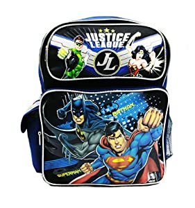 "Justice League Meduim Backpack 14"" from Ruz"