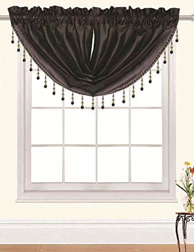 RT Designers Collection Nikki Valance, 47 by 37-Inch, Chocolate