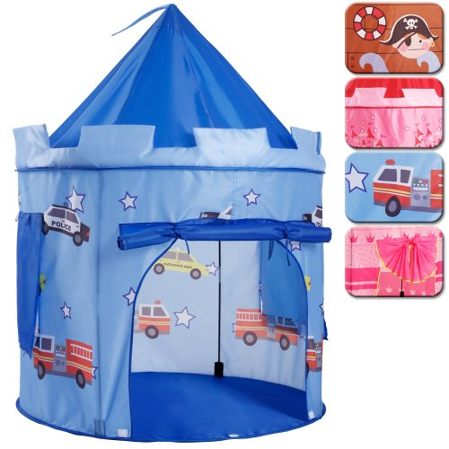 Infantastic-Kinderzelt-Kinderschloss-Burg-fr-drinnen-drauen-verschiedene-Modelle-Spielzelt-inkl-Tasche