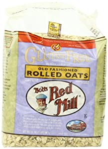 Bob's Red Mill Gluten Free Whole Grain, Rolled Oats, 32-Ounce Bag