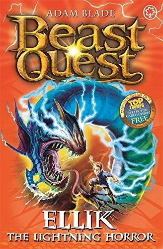 41: Ellik the Lightning Horror (Beast Quest)