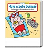 Have a Safe Summer Coloring and Activity Book Trade Show Giveaway