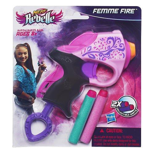 Nerf Rebelle Femme Fire Mini Blaster nerf zombie strike sledgefire blaster