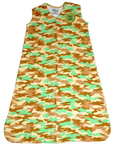 Wearable Cotton Sleepsack Camouflage Blanket
