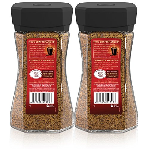 Taster's Choice House Blend Instant Coffee, 7 Ounce(Pack of 2)