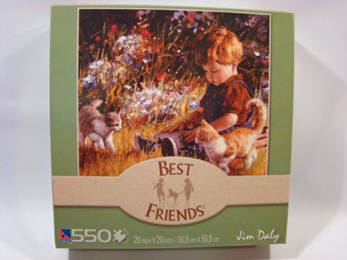 Best Friends 550 Piece Jigsaw Puzzle: Unexpected Company