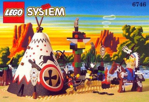 LEGO System Western 6746 Häuptlings Tipi
