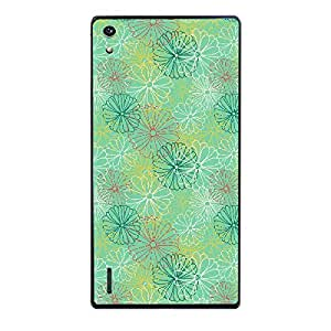 Skin4gadgets FLORAL Pattern 42 Phone Skin for HONOR P7
