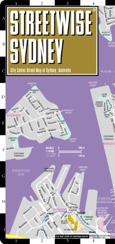 Streetwise Sydney Map - Laminated City Center Street Map of Sydney, Australia (Restaurants That Start With compare prices)