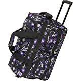 "Maestro Luggage Concord Stylish 22"" Rolling Duffle Bag"