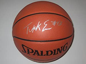 Tyreke Evans Sacramento Kings Spalding Signed Autographed Basketball Authentic...