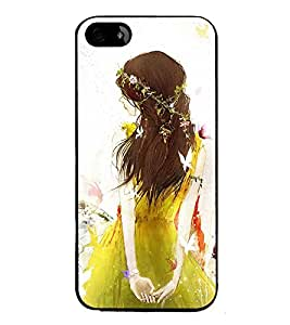 iFasho Princess painting Back Case Cover for Apple iPhone 5
