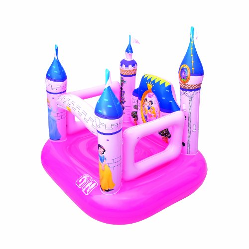 Bestway 91050B Bouncy Castle Inflatable 157 x 147 x 163 cm Disney Princesses Theme